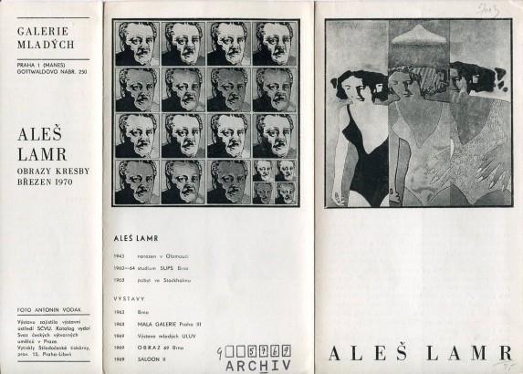 Aleš Lamr: Obrazy kresby