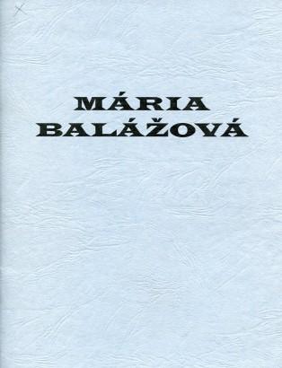 Mária Balážová: Hadia geometria