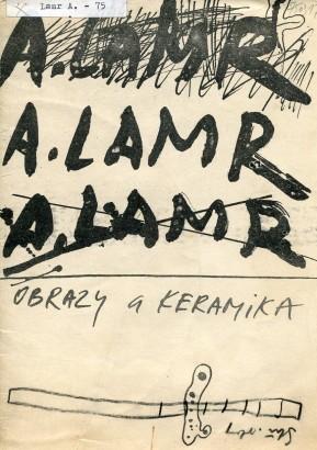 Aleš Lamr: Obrazy a keramika