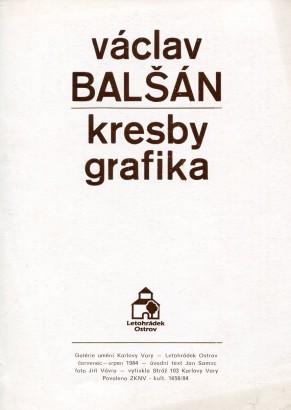 Václav Balšán: Kresby, grafika