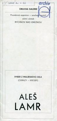 Aleš Lamr: Výběr z malířského díla