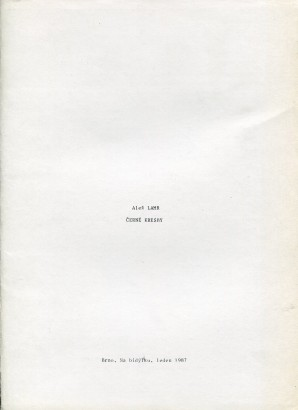 Aleš Lamr: Černé kresby