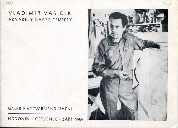 Vladimír Vašíček: Akvarely, kvaše, tempery