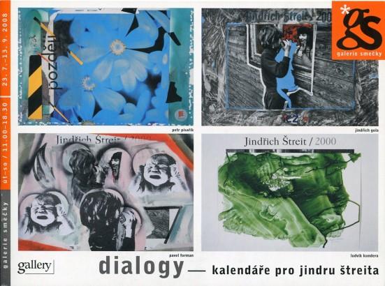 Dialogy - kalendáře pro Jindru Štreita