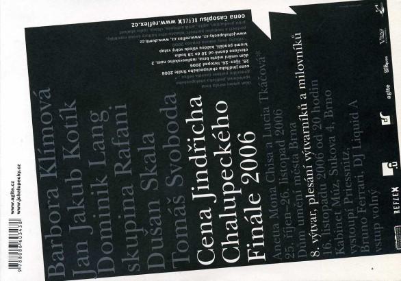 Cena Jindřicha Chalupeckého: Finále 2006
