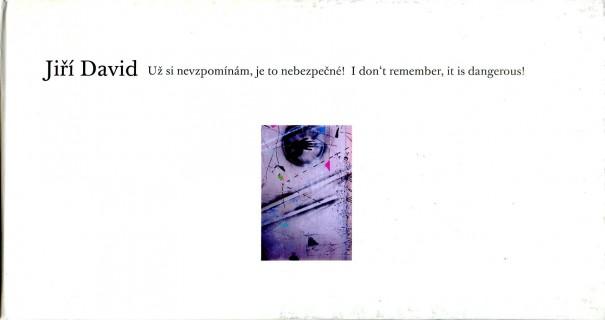 Jiří David: Už si nevzpomínám, je to nebezpečné! / I don't remember, it is dangerous!
