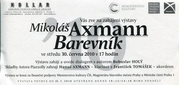 Mikoláš Axmann: Barevník