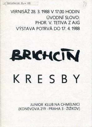 Roman Brichcín: Kresby