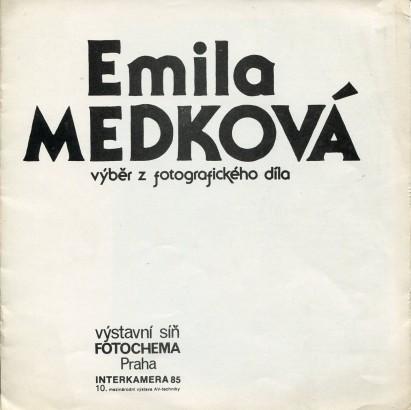 Emila Medková: Výběr z fotografického díla