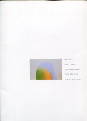 Miloš Ševčík: Obrazy a kresby / Painting and Drawings