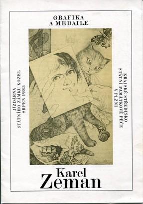 Karel Zeman: Grafika a medaile