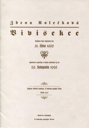Zdena Kolečková: Vivisekce