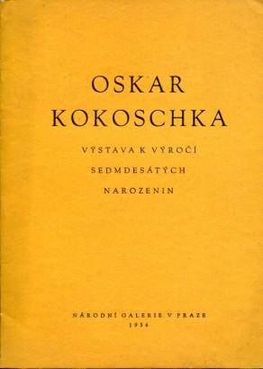 Oskar Kokoschka: Výstava k výročí sedmdesátých narozenin