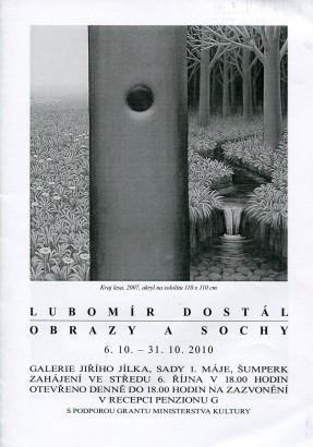 Lubomír Dostál: Obrazy a sochy