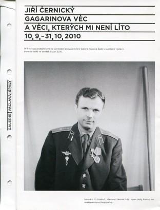 Jiří Černický: Gagarinova věc a věci, kterých mi není líto