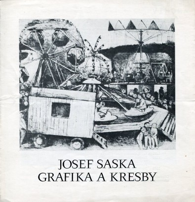 Josef Saska: Grafika a kresby