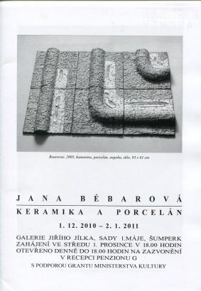 Jana Bébarová: Keramika a porcelán