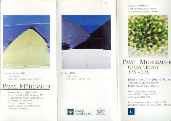 Pavel Mühlbauer: Obrazy a kresby 1991-2001
