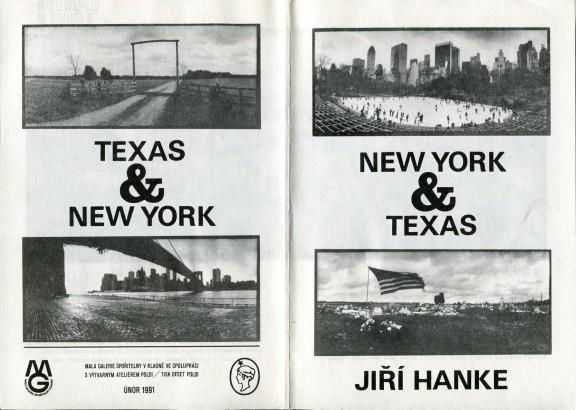 Jiří Hanke: New York & Texas
