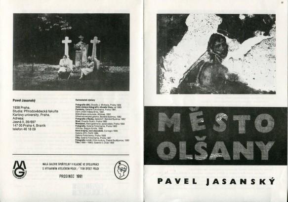 Pavel Jasanský: Město Olšany