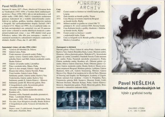 Pavel Nešleha: Ohlédnutí do sedmdesátých let