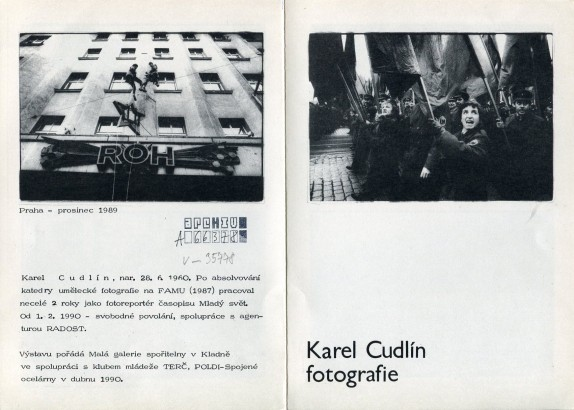 Karel Cudlín: Fotografie