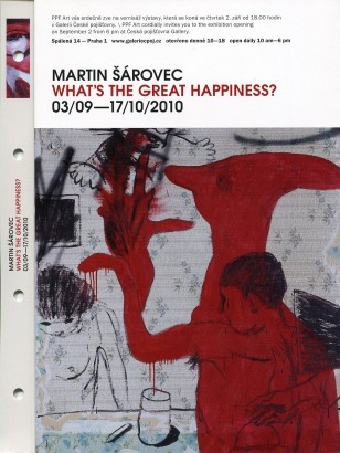 Martin Šárovec: What's the Great Happiness