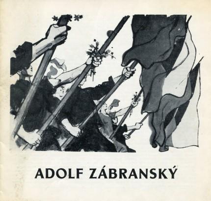 Adolf Zábranský: Plakát a novinová kresba