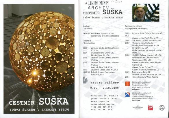 Čestmír Suška: Rezavé květy / Rusty flowers