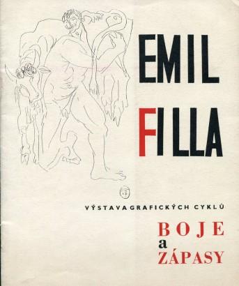 Emil Filla: Výstava grafických cyklů Boje a zápasy