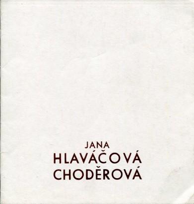Jana Hlaváčová Choděrová