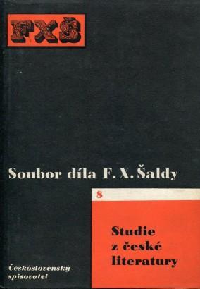 Šalda, František - Studie z české literatury