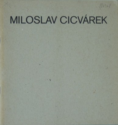 Miloslav Cicvárek: Obrázky z Paříže (pokus o reportáž)