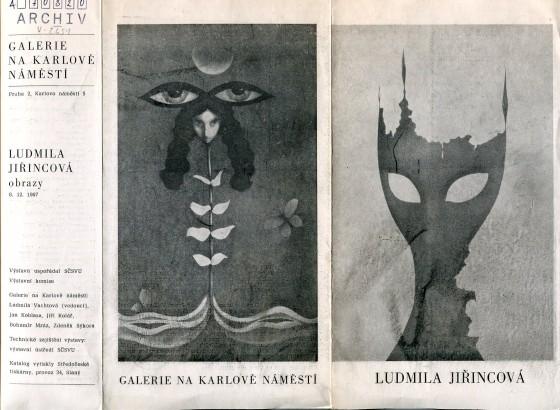 Ludmila Jiřincová: Obrazy