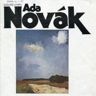 Ada Novák: Obrazy - výbor z tvorby