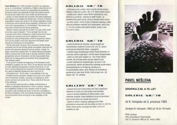 Pavel Nešleha: Grafika z 60. a 70. let