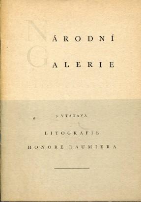 Litografie Honoré Daumiera