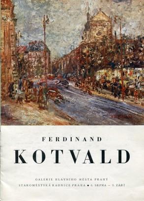 Ferdinand Kotvald: Obrazy z let 1937 - 1959