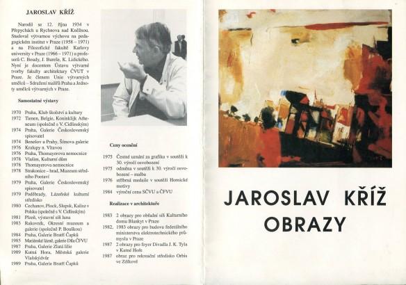 Jaroslav Kříž: Obrazy
