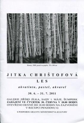 Jitka Chrištofová: Les