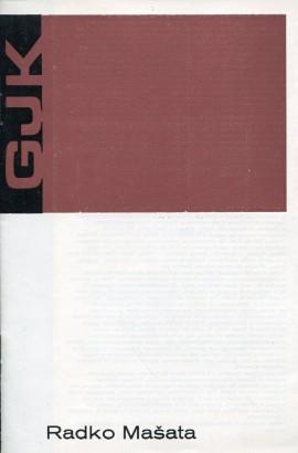 Radko Mašata: Obrazy 1970 - 75