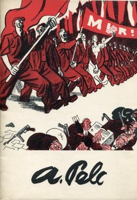 Souborná výstava malíře, karikaturisty Antonína Pelce
