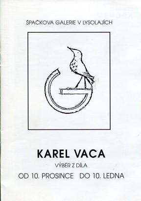 Karel Vaca: Výběr z díla