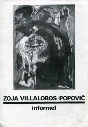 Zoja Villalobos-Popovič: Informel