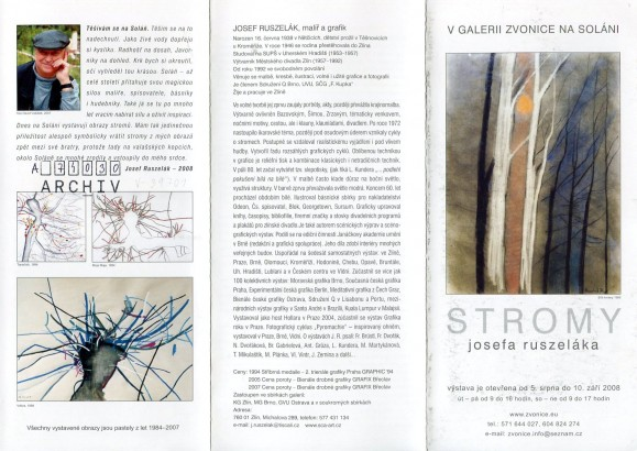 Josef Ruszelák: Stromy