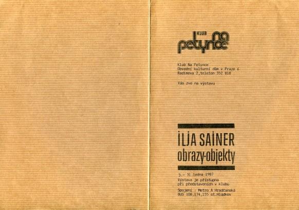 Ilja Sainer: Obrazy, objekty