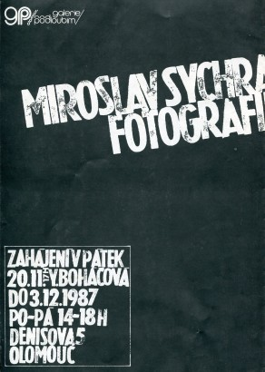 Miroslav Sychra: Fotografie