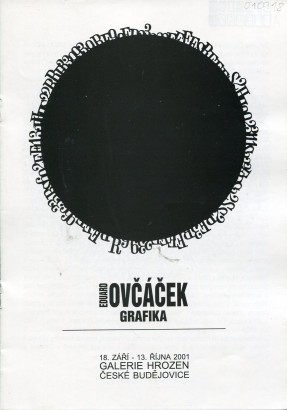 Eduard Ovčáček: Grafika