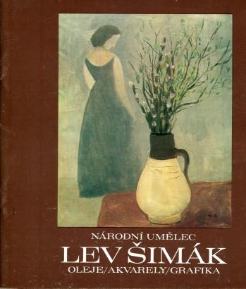 Lev Šimák: Oleje, akvarely, grafika