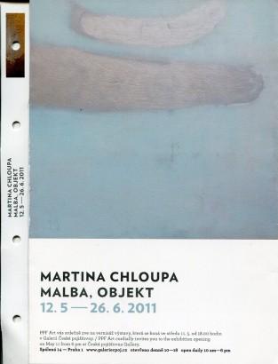 Martina Chloupa: Malba, objekt